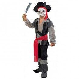 Πειρατής του Τρόμου στολή αγοριών με μάσκα