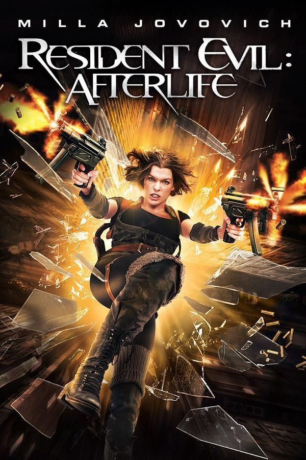 Resident Evil: Afterlife    Support: BluRay 1080    Directeurs: Paul W.S. Anderson    Année: 2010 - Genre: Action / Aventure / Horreur / Science-Fiction - Durée: 96 m.    Pays: Germany / United States of America / France / Canada - Langues: Français, Anglais    Acteurs: Milla Jovovich, Wentworth Miller, Ali Larter, Kim Coates, Kacey Barnfield, Shawn Roberts, Sergio Peris-Mencheta, Boris Kodjoe, Sienna Guillory, Spencer Locke, Norman Yeung, Ray Olubowale, Christopher Kano