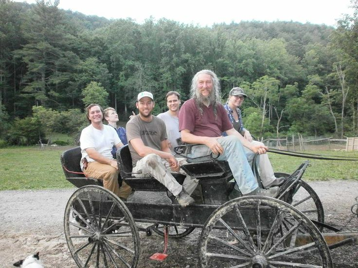 Eustace Conway Family