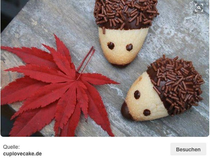 Süße Igel-Kekse   eatsmarter.de