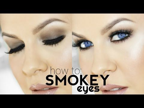HOW TO: SMOKEY EYES FOR BEGINNERS | Using Drugstore/Affordable Products | Nikkia Joy - YouTube