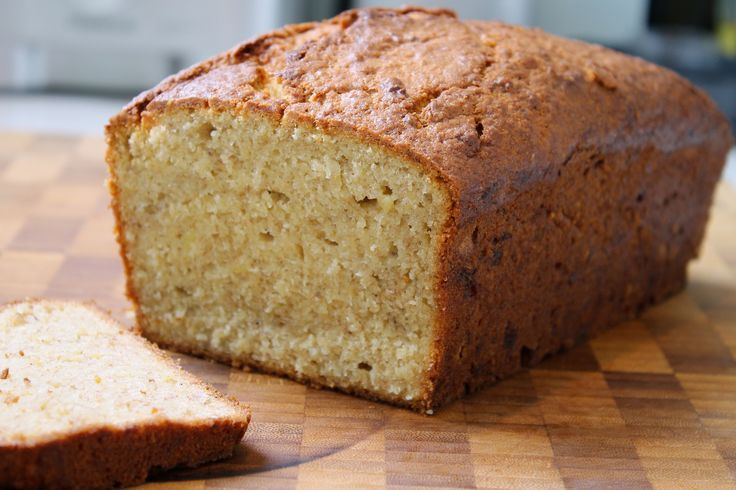 Coconut & vanilla banana loaf