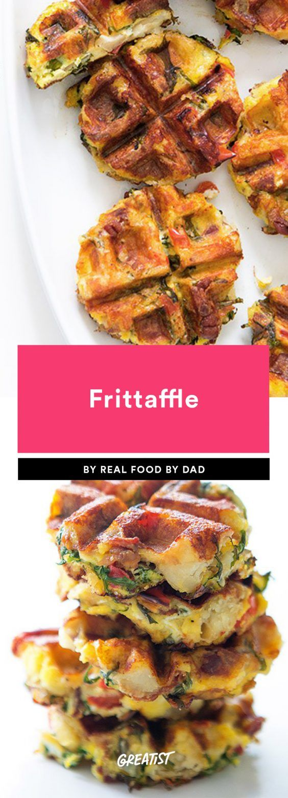 Think waffle irons are a one-hit wonder? Think again.  #healthy #waffles #recipes https://greatist.com/eat/waffle-maker-recipes