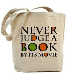 Guest Post by Amy Morse - Don't Judge a Book by its Movie http://goo.gl/diJd8M