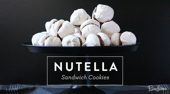 Nutella Sandwich Cookies: It's what's in the middle that counts. Get the recipe.
