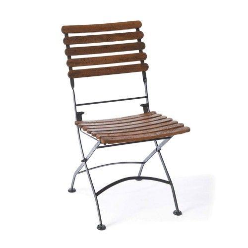 Riviera Maison St Maxime Acacia Wood & Iron Bistro Chair