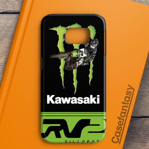 Ryan Villopoto Monster Thor Motocross Samsung Galaxy S6 Edge Case | casefantasy