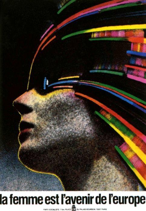 Roman Cieslewicz. Polish Graphics designer 60's-70's