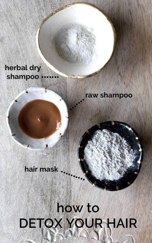 Natural DIY Hair Care Recipes : HAIR DETOX || Get healthy voluminous hair with three natural steps to detox you