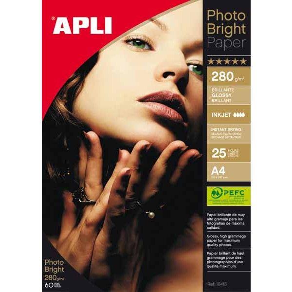 Comprar Papel fotográfico A4 280g 25 hojas 04458  #oficina #tienda #negocio #casa #hogar #papel #fotografico #profesional #A4