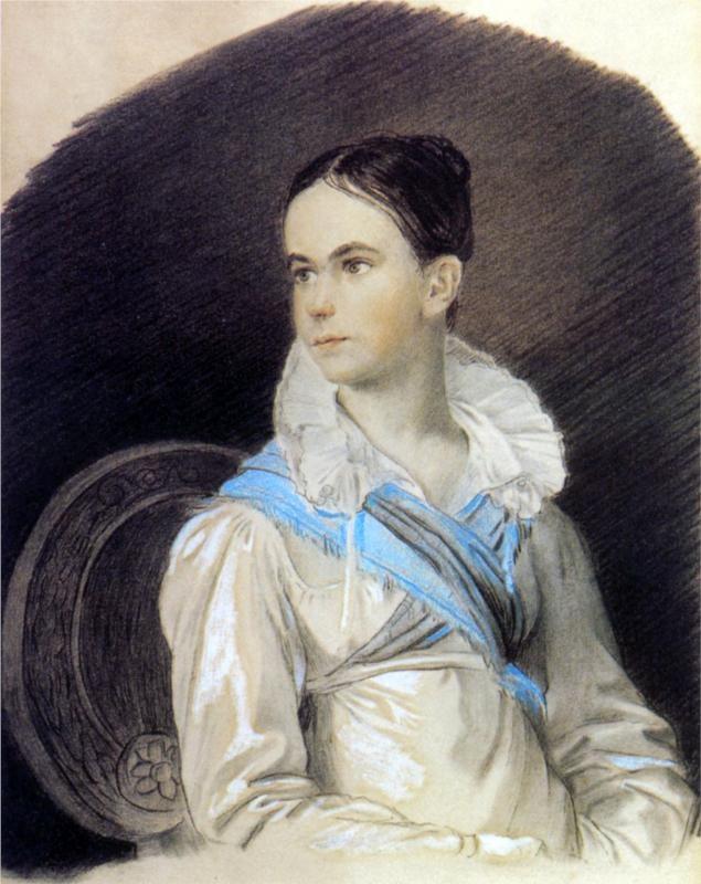 Orest Kiprensky - Portrait of N. Kochubey, 1813