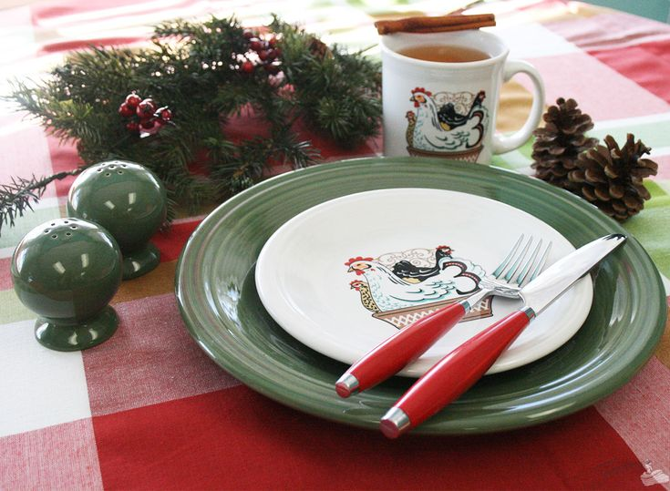 Fiesta Dinnerware NEW 12 Days Of Christmas Set Www
