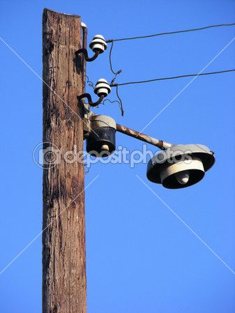 Staré pouliční lampa — Stock Fotografie © Petersim #3715657