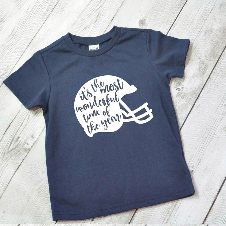 Football shirt for kids - Its the most wonderful time of the year - MORE COLORS - Boys football shirt - kids football shirt - girls football by ShopHartandSoul on Etsy https://www.etsy.com/listing/467756972/football-shirt-for-kids-its-the-most