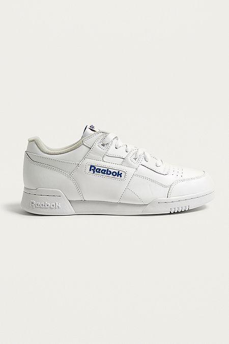 874a930efa3 Reebok Workout Plus White Trainers