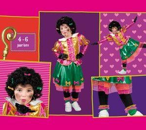 Sinterklaas feest kan ook Super Hip! Met dit Meisjes Kostuum van Maatje Piet, mijn Naaimachine staat al te Trappelen! ;-D