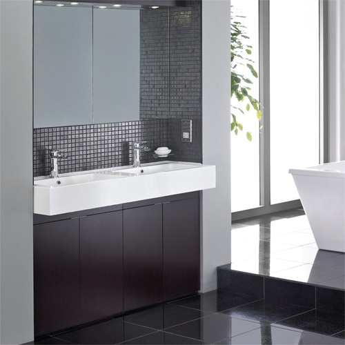 207 best images about bathrooms on pinterest small - Bathroom vanities nebraska furniture mart ...