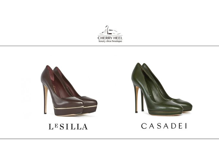 Stunning #pumps on #sale! 40% off in Cherry Heel #Barcelona boutique and online at www.cherryheel.com  #LeSilla pumps in burgundy calf leather: www.cherryheel.com/en/lesilla/358-le-silla.html  #Casadei pumps in military green calf leather: www.cherryheel.com/en/shoes-woman/75-casadei.html  Shop now!  #shoppingbarcelona #bestshop #bestshoes #fashion #style #shoes #italianfashion #italianstyle #madeinitaly #woman