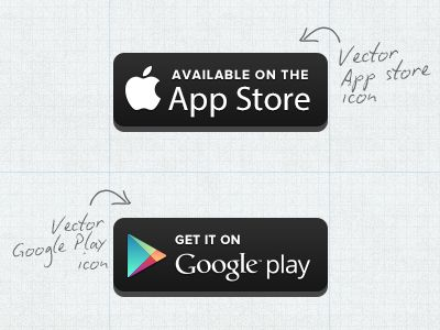 appstore and google play badges