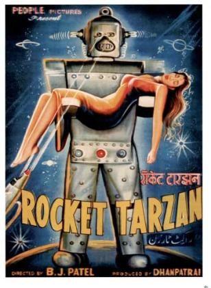 Bollywood poster; Rocket Tarzan! haha