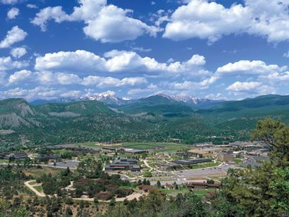 View of Fort Lewis College campus. For more information: www.fortlewis.edu  Photo: National Student Exchange (www.nse.org)