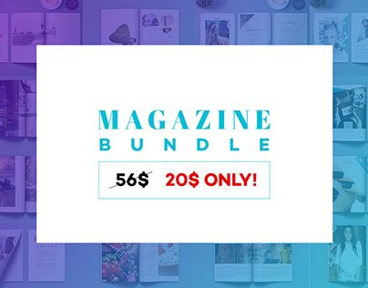 "Check out new work on my @Behance portfolio: ""Magazine Bundle"" http://be.net/gallery/44654359/Magazine-Bundle"