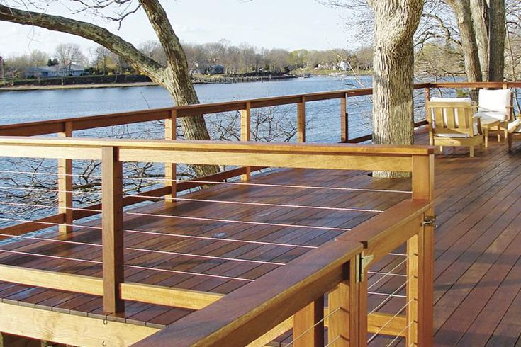 handiswage cable railing this to redo the back deck. Black Bedroom Furniture Sets. Home Design Ideas