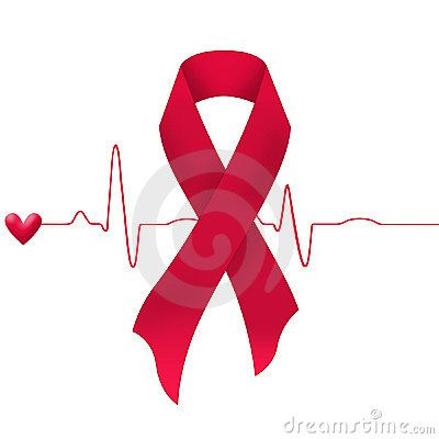 heart Disease Ribbon Color | Heart Disease Ribbon Support-cure-heart-disease- ...