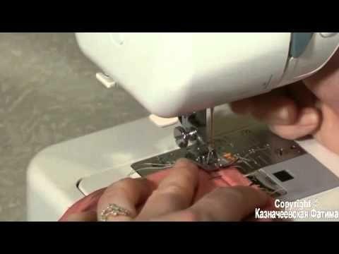 Уроки шитья. Заделка концов молнии при обработке обтачками — вдохновение рукодельницы