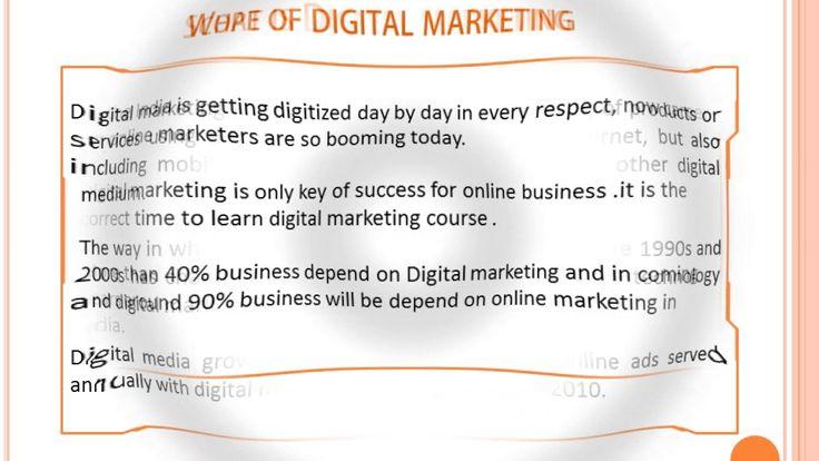 Digital Marketing Training Course Rohini Delhi