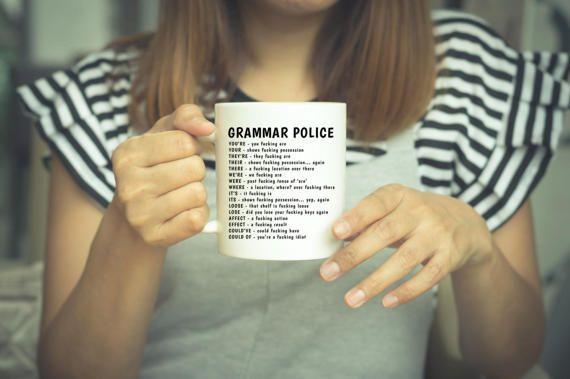 Funny Grammar Mug Funny Grammar Gift Gramma Gift Grammar