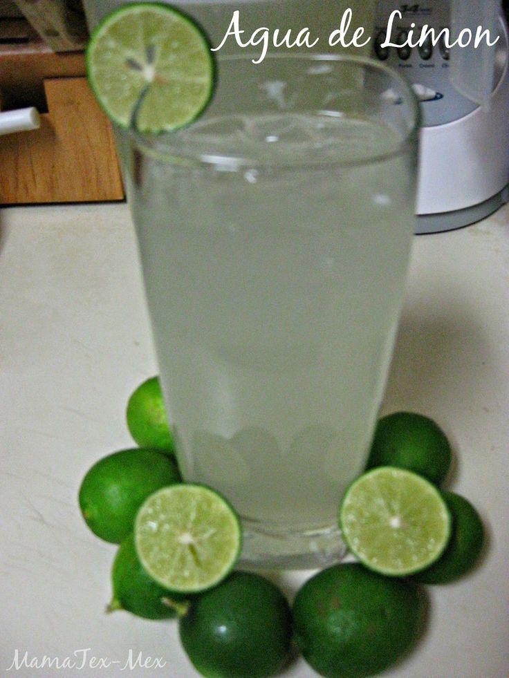 Agua Fresca:Agua de Limon/Limonada en Licuadora Facil y Deliciosa!// Mexican Limeade Easy and Delicious! #AguaFresca #AguadeLimon #Limonada