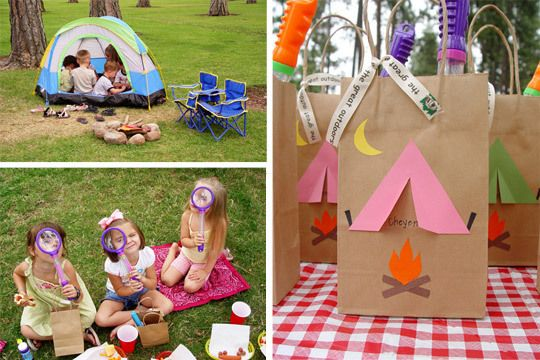 Outdoors Birthday Party