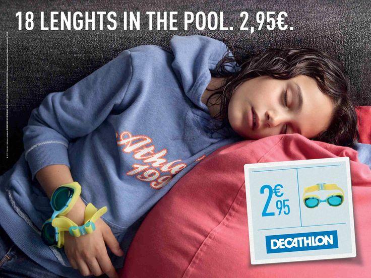 publicité Décathlon pour la rentrée des enfants (petits prix), Agence BETC Paris.