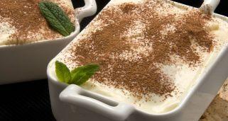 Receta de Tiramisú con leche condensada. Sin huevos ni nata.