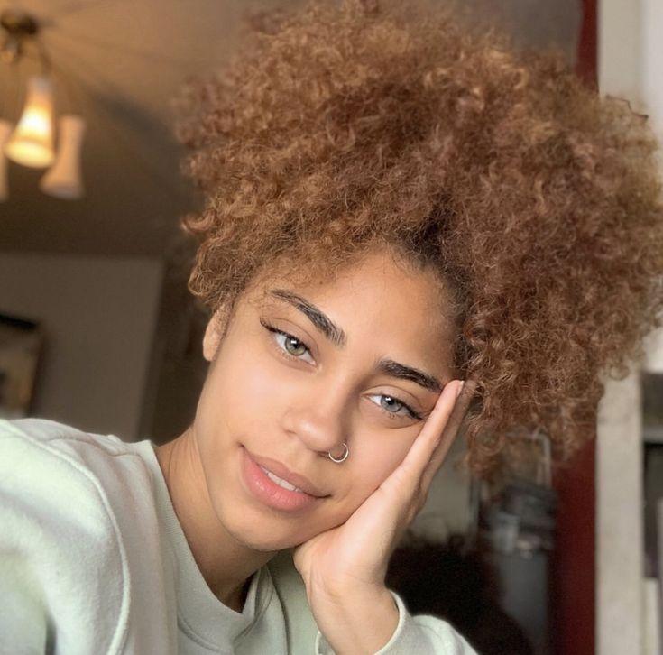 meryemhxk   Curly girl hairstyles, Mixed girl hairstyles ...