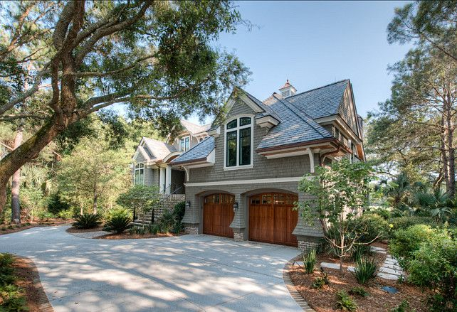 107 best images about garage door designs on pinterest for Beautiful architecture houses