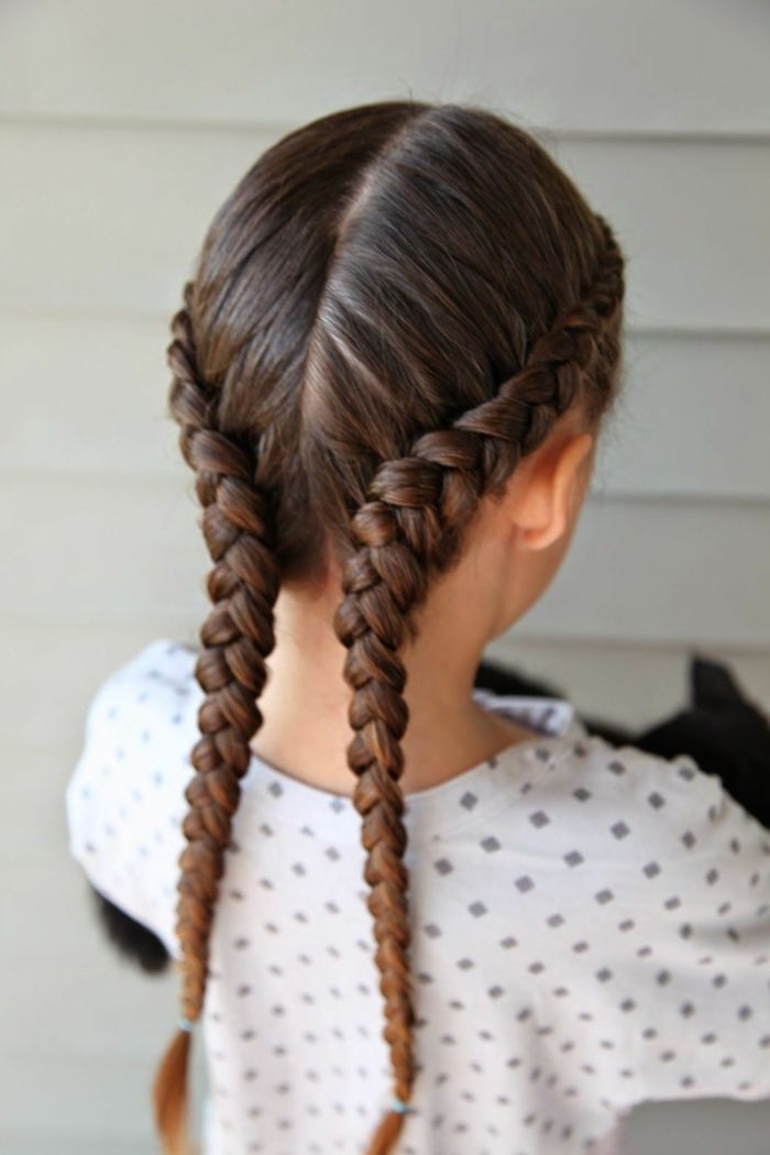1001 ideas para peinados f ciles para ni as con trenzas - Peinados de ninas ...