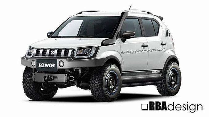 Custom Suzuki Ignis Off Road Mod Offroad Suzuki Cars Kei Car