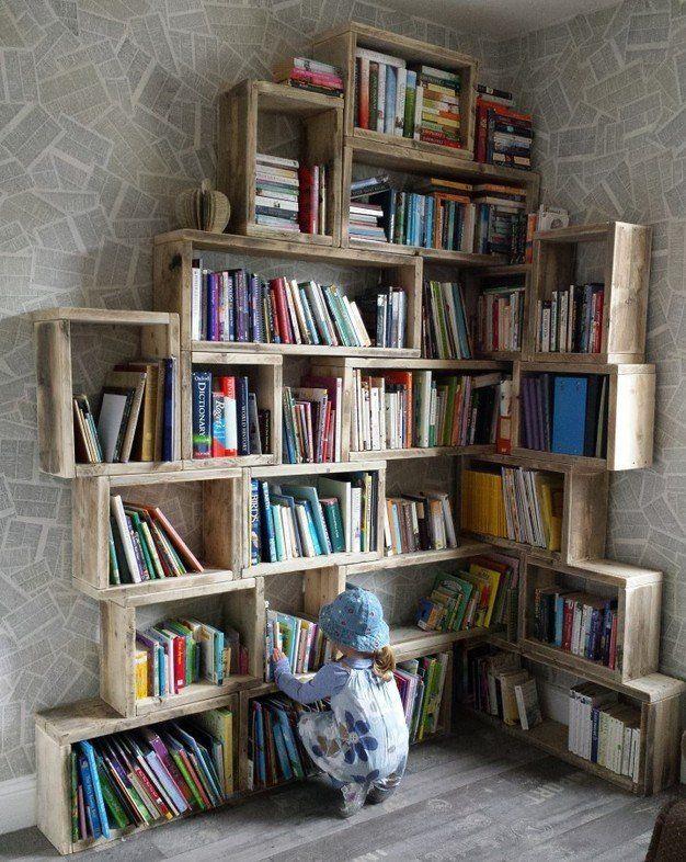 Reclaimed Wood Storage by HOMEBARN