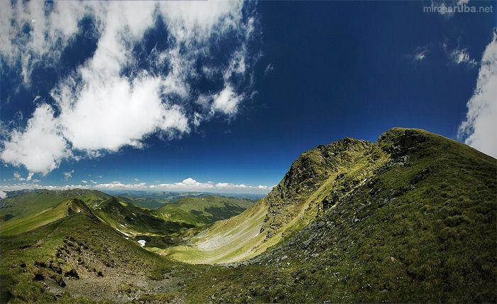 Reaching the summits - Rodnei Mountains of Romania