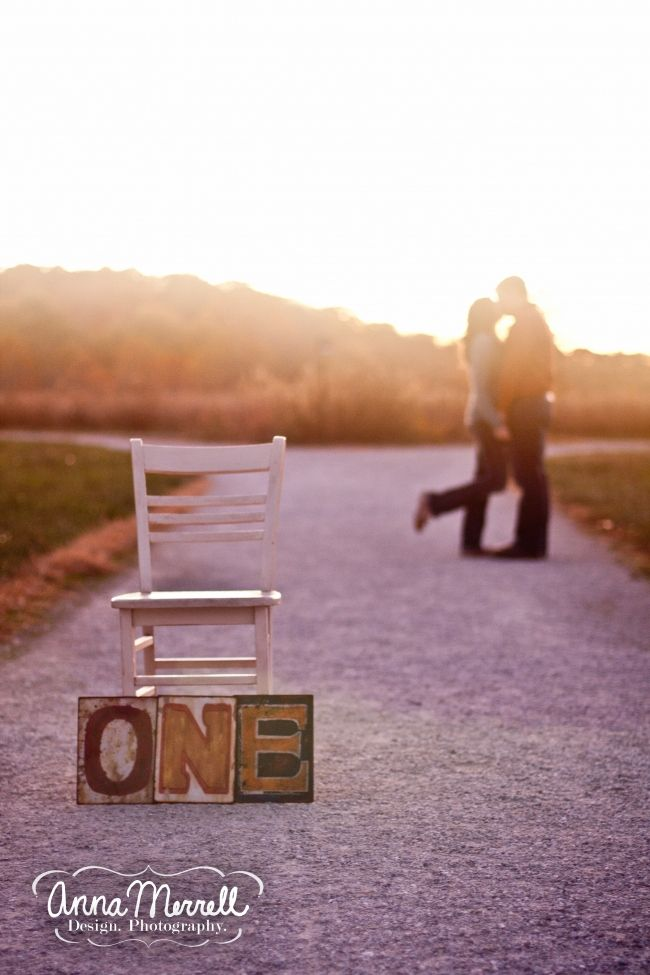 Take anniversary photos every year. Put a canvas/ picture of wedding day for the yearly picture