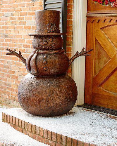 H8D06 Outdoor Snowman
