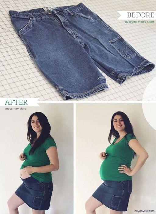 12 Tips para transformar tu ropa en prendas de maternidad