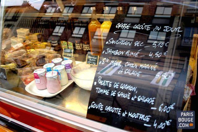 Chez Hipolène : épicerie et bistrot de quartier rue Saint-Maur