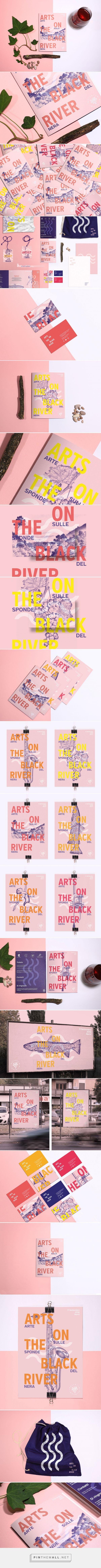 Arts on The Black River Festival Branding by Bocanegra Studio   Fivestar Branding – Design and Branding Agency & Inspiration Gallery