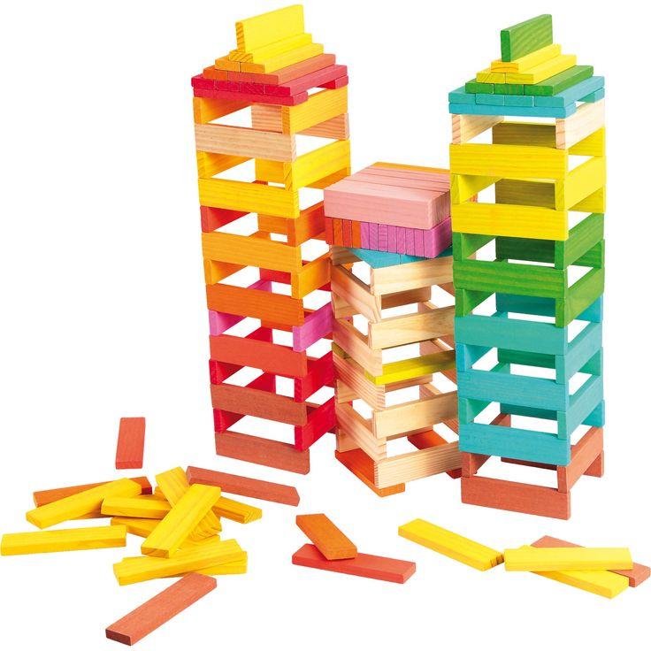 Imaginația nu cunoaște limite cu acestă jucărie educativă din lemn! Cărămizile colorate pot deveni imediat o barcă, un turn de apărare sau un avion gata de zbor.  #woodentoys #jucariieducative #kidsplay #jucariidinlemn #woodencubes #jucariionline #creative