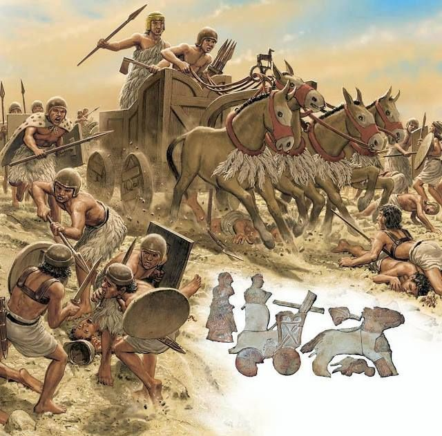 Sumerian War Chariot