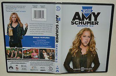 3 DVD set - Inside Amy Schumer: Seasons 1 & 2 - MINTY