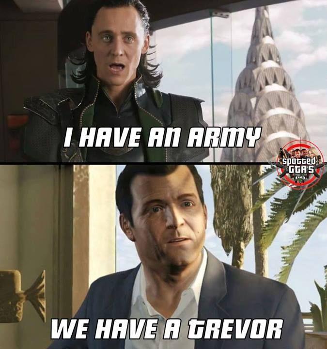 GTA V vs Avengers
